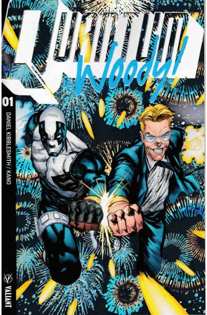 Quantum & Woody #1 Cover B [Valiant Comic] THUMBNAIL