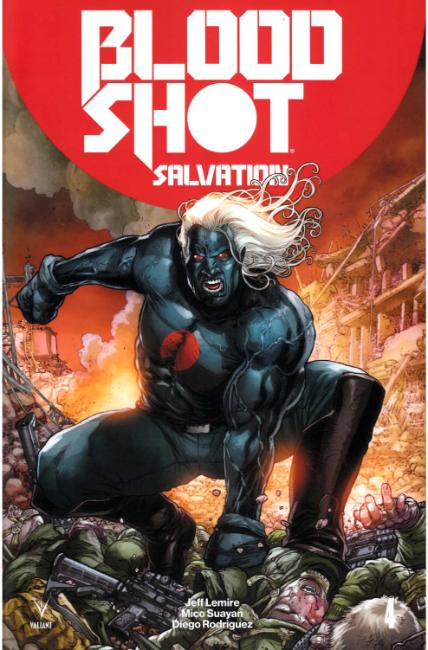 Bloodshot Salvation #4 Cover B [Valiant Comic] THUMBNAIL