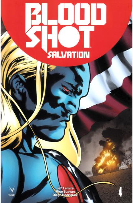 Bloodshot Salvation #4 Cover C [Valiant Comic] THUMBNAIL