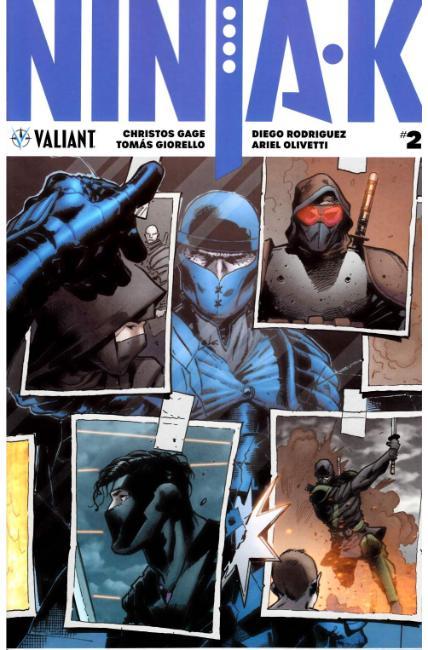 Ninja-K #2 Cover A [Valiant Comic]