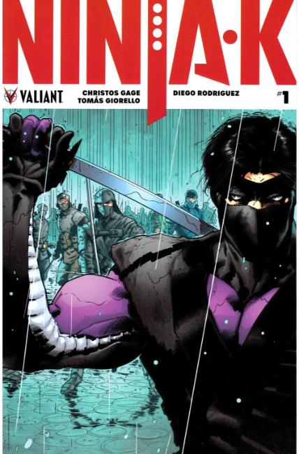 Ninja-K #1 Second Printing [Valiant Comic]