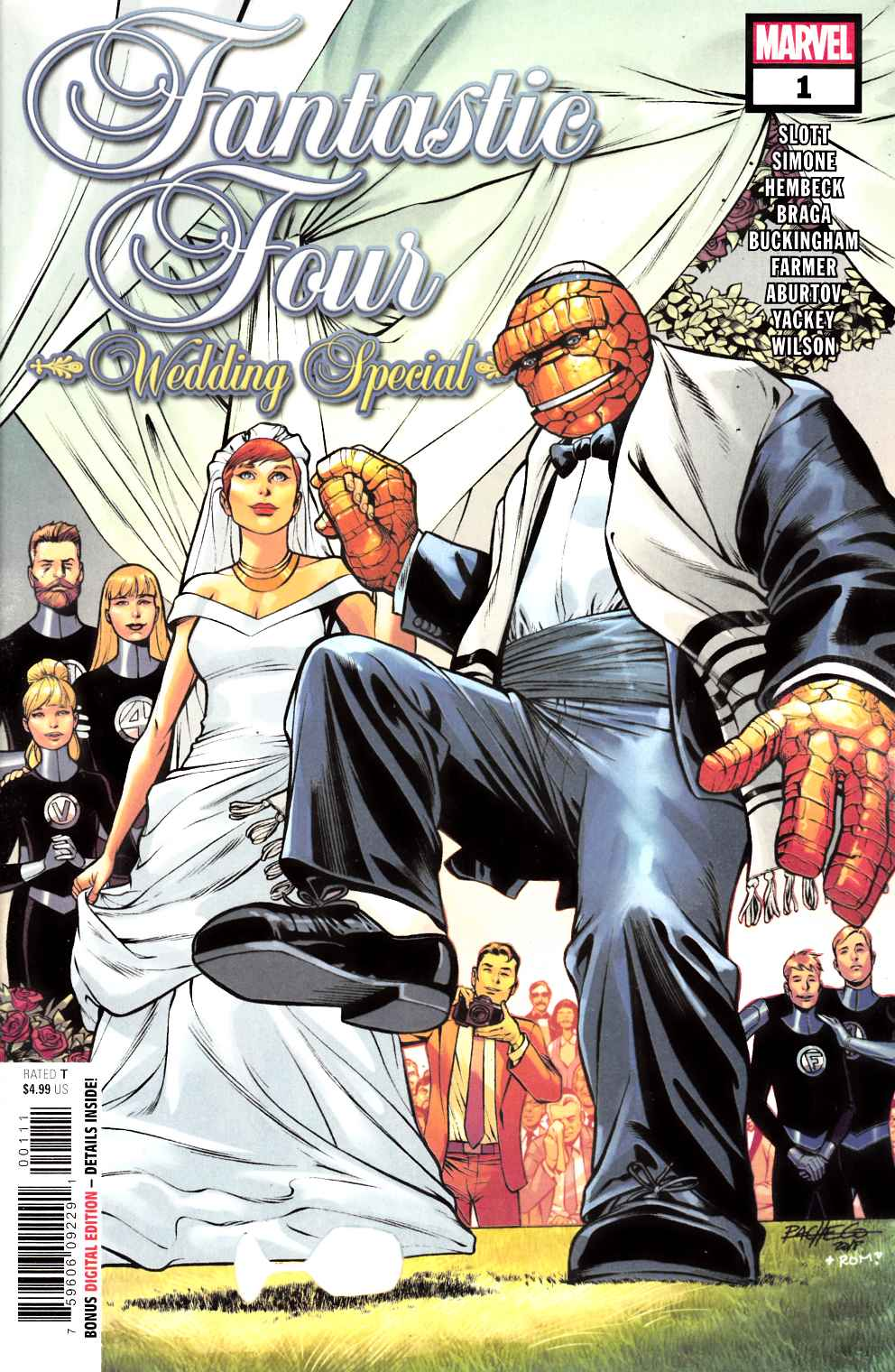 Fantastic Four Wedding Special #1 Near Mint (9.4) [Marvel Comic] LARGE