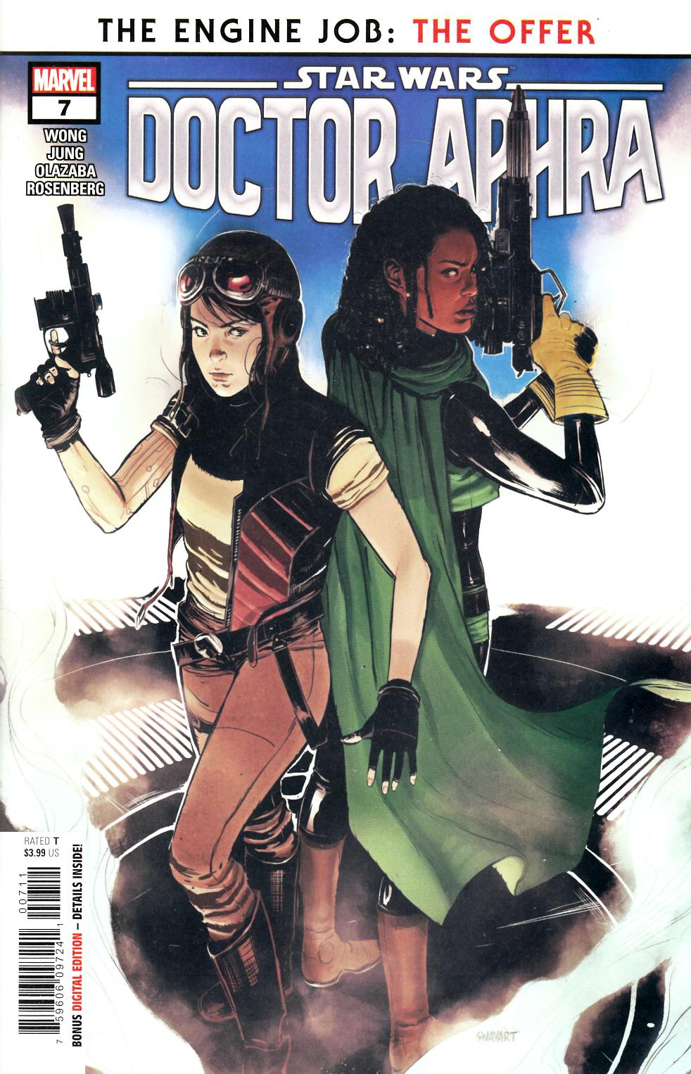 Star Wars Doctor Aphra #7 Near Mint (9.4) [Marvel Comic] LARGE