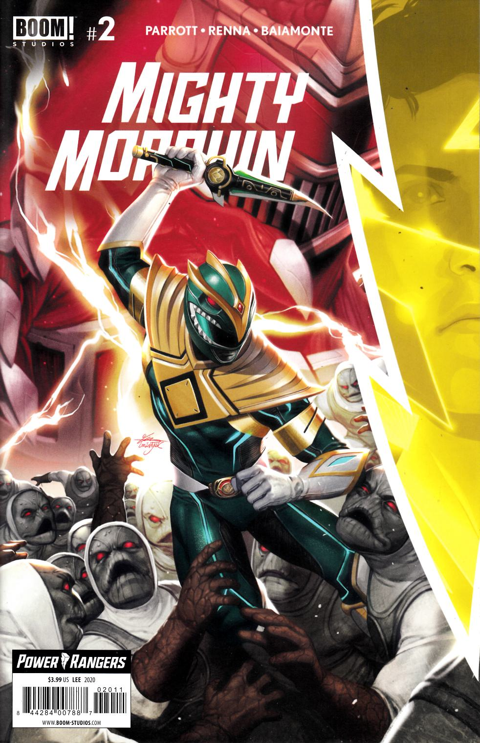 Mighty Morphin #2 Cover A Near Mint (9.4) [Boom Comic] THUMBNAIL