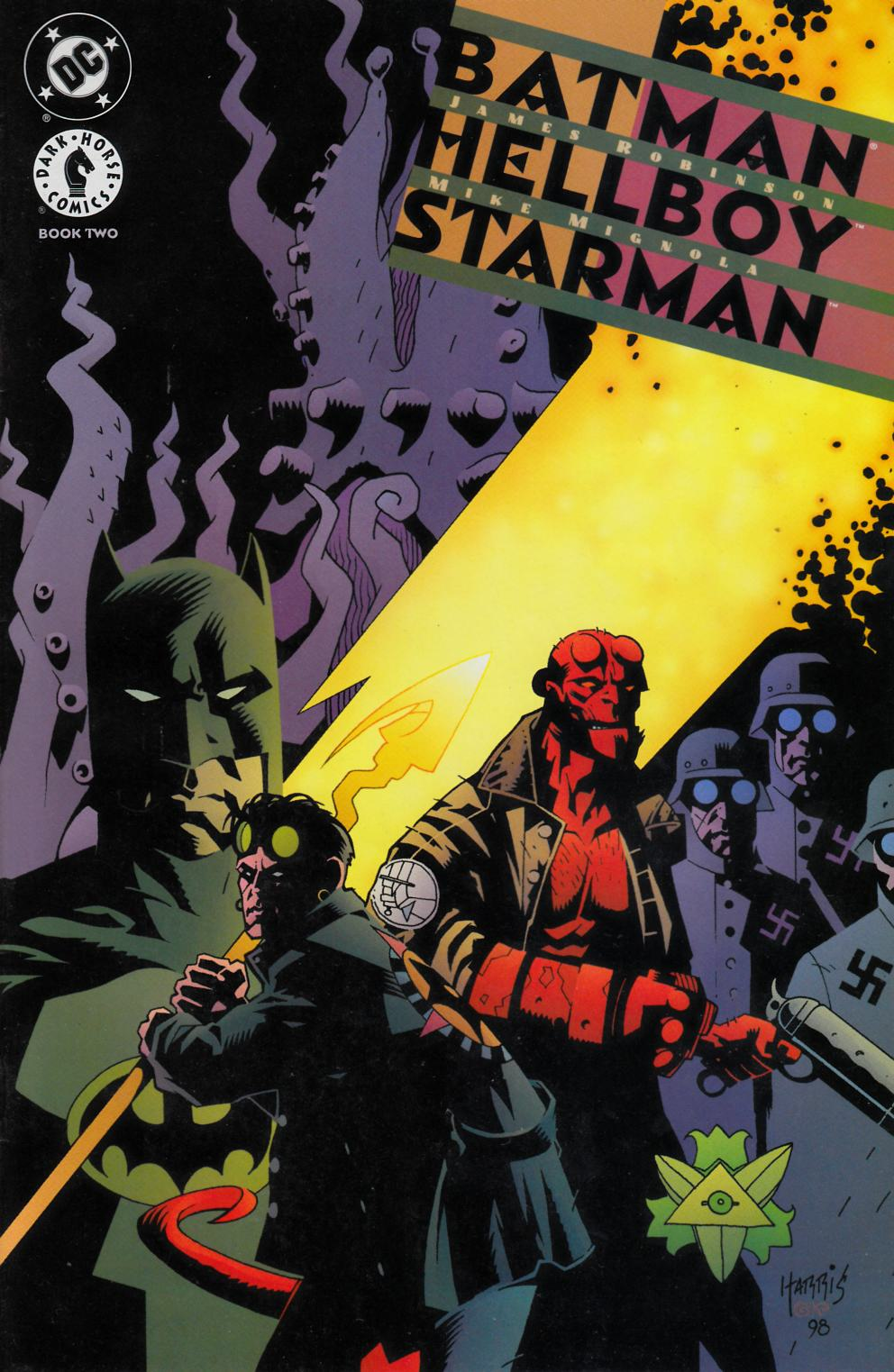 Batman Hellboy Starman #2 Near Mint (9.4) [Dark Horse Comic] THUMBNAIL
