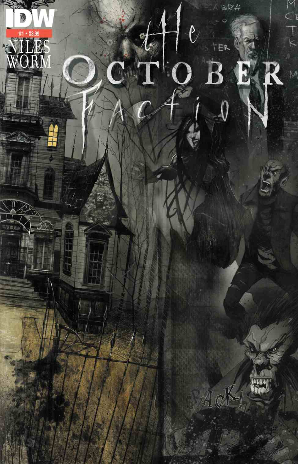 October Faction #1 Second Printing [Comic] THUMBNAIL