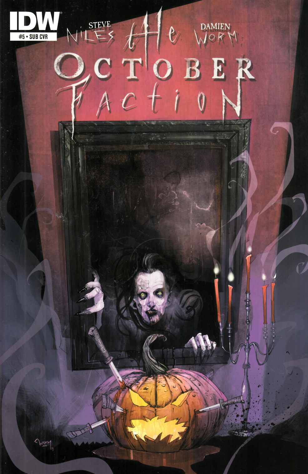 October Faction #5 Subscription Cover [IDW Comic] THUMBNAIL