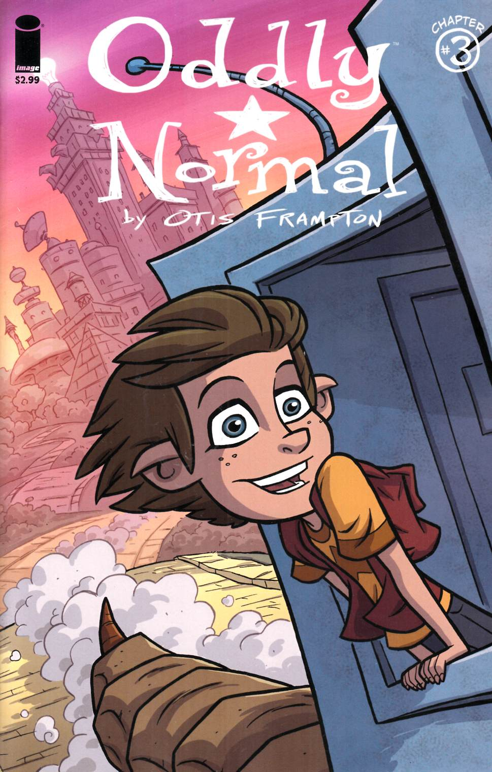 Oddly Normal #3 Cover A- Frampton [Image Comic] THUMBNAIL