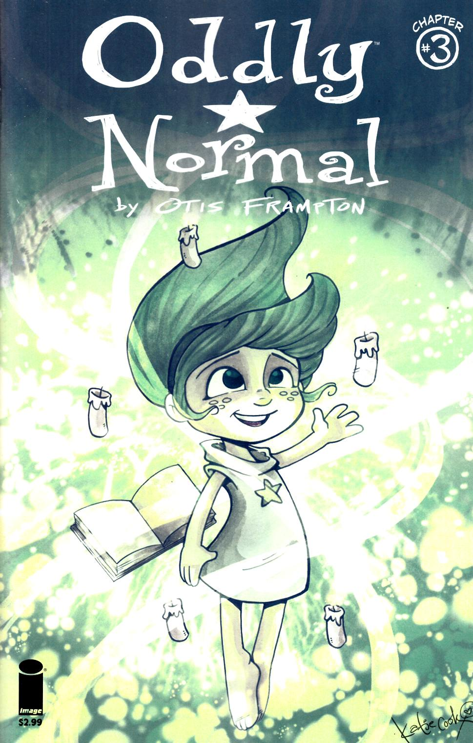 Oddly Normal #3 Cover B- Cook [Image Comic] LARGE