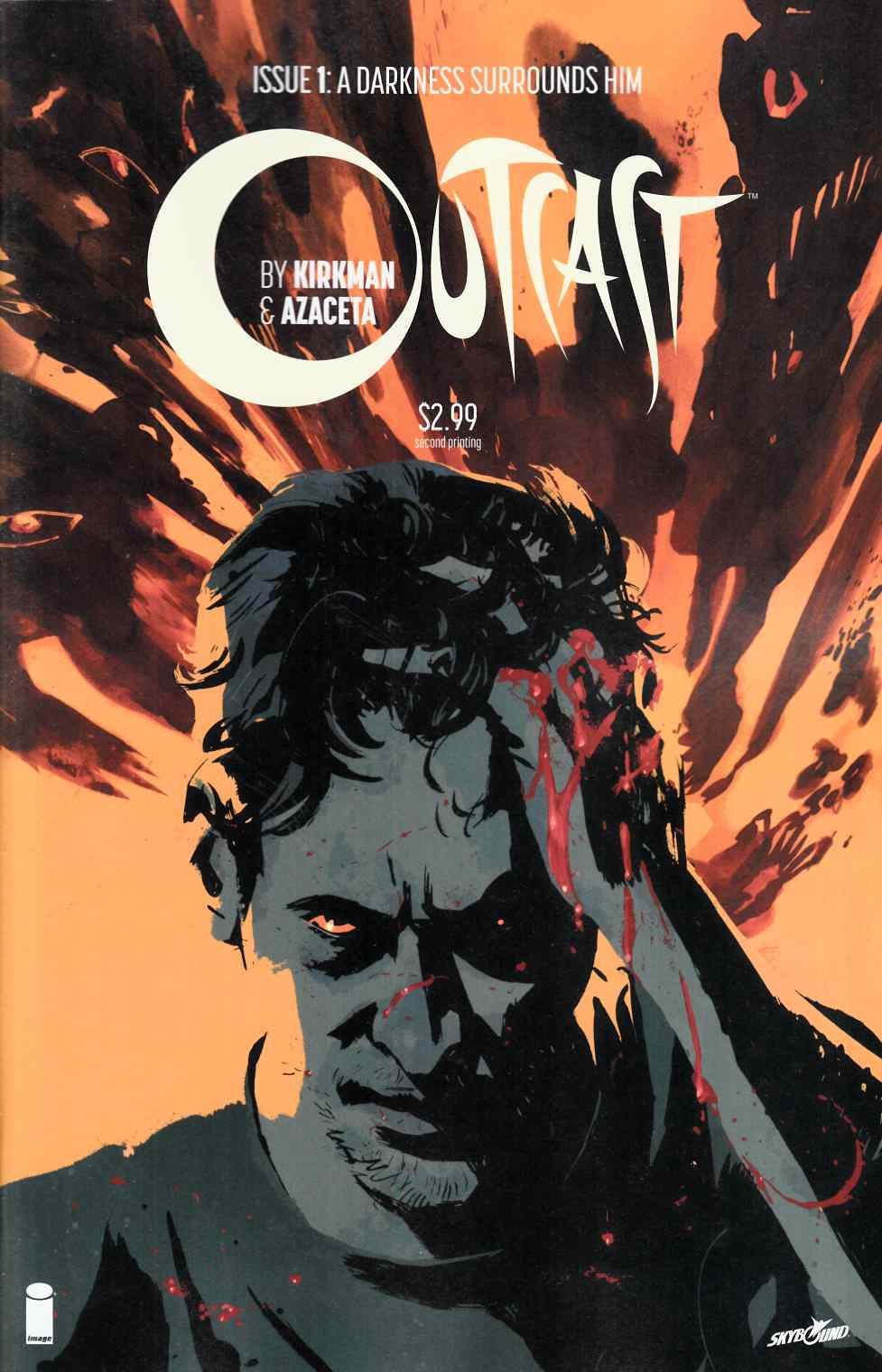 Outcast By Kirkman & Azaceta #1 Second Printing Near Mint (9.4) [Image Comic] THUMBNAIL