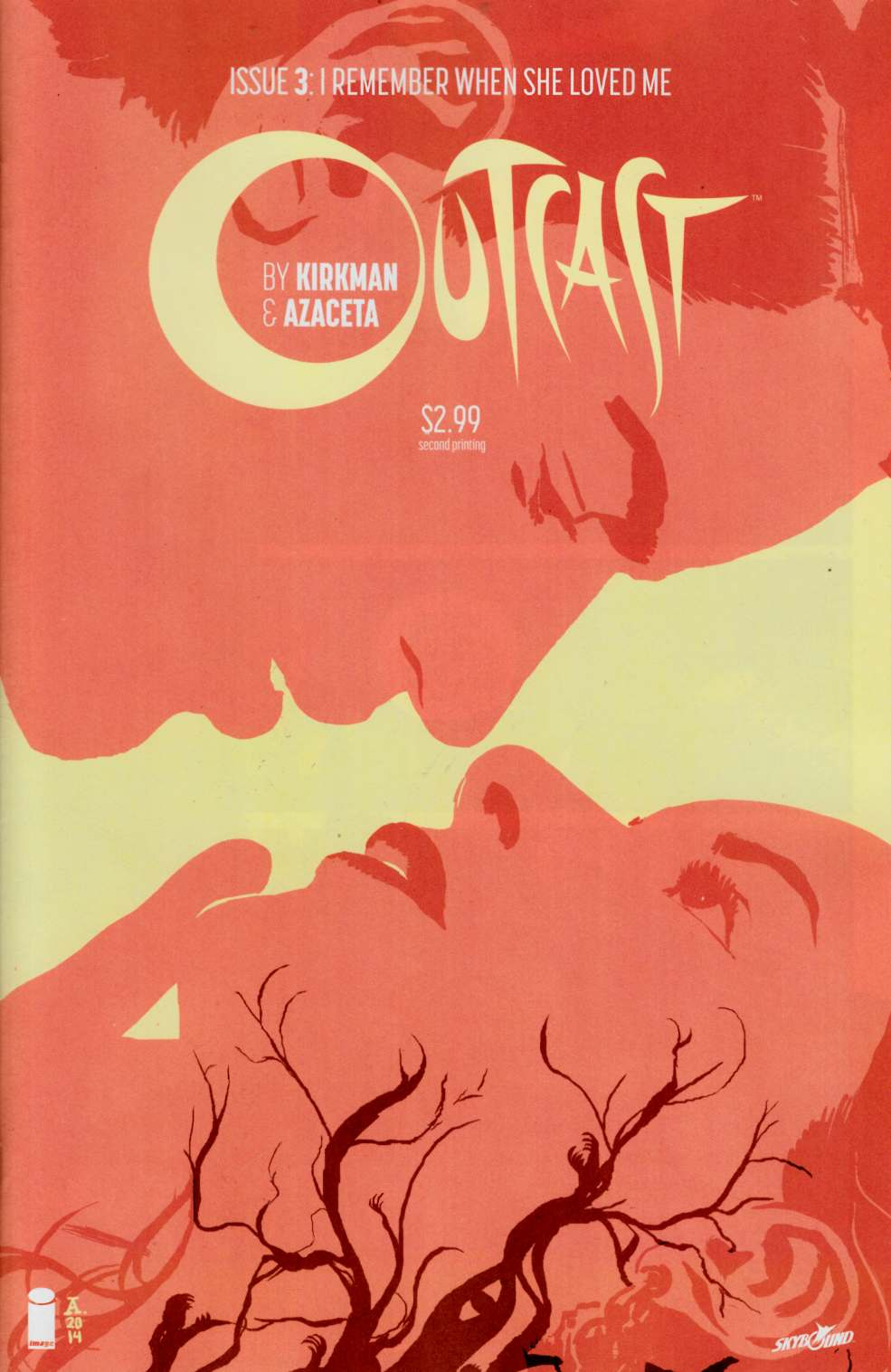 Outcast By Kirkman & Azaceta #3 Second Printing [Comic] THUMBNAIL