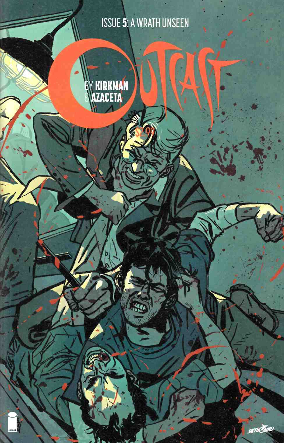 Outcast By Kirkman & Azaceta #5 Near Mint (9.4) [Image Comic] THUMBNAIL