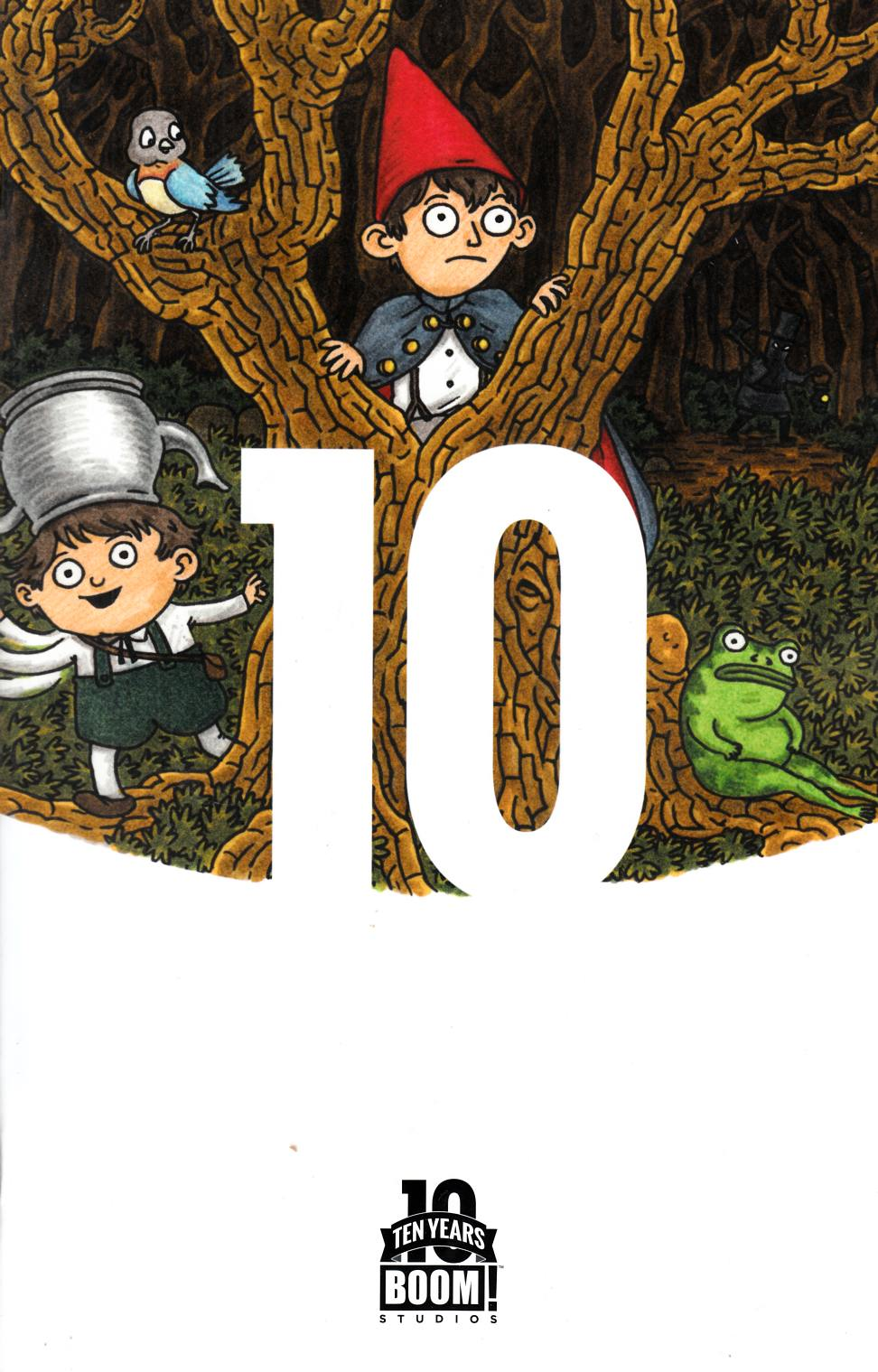 Over the Garden Wall #1 10 Year Brown Variant Cover [Boom Comic] THUMBNAIL