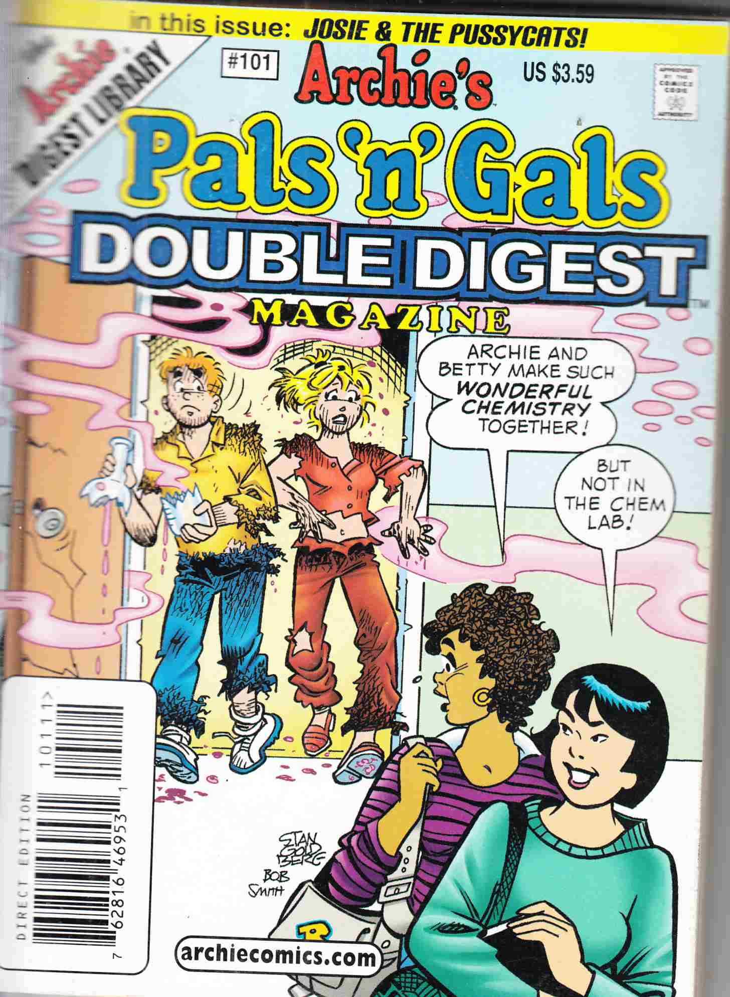 Pals N Gals Double Digest #101 Fine (6.0) [Archie Comic] THUMBNAIL