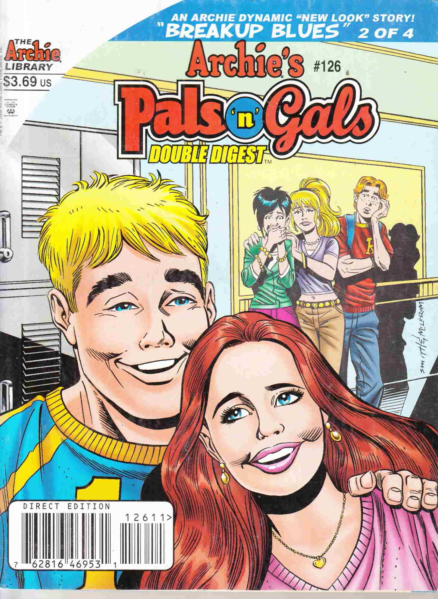 Archies's Pals n Gals Double Digest #126 Very Fine (8.0) [Archie Comic] THUMBNAIL