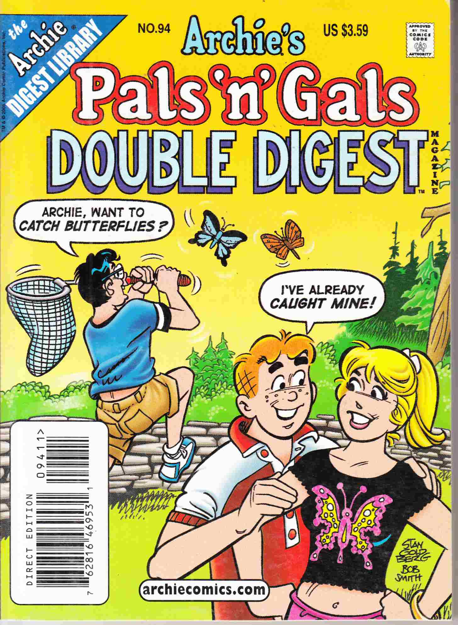 Pals N Gals Double Digest #94 Near Mint Minus (9.2) [Archie Comic] THUMBNAIL