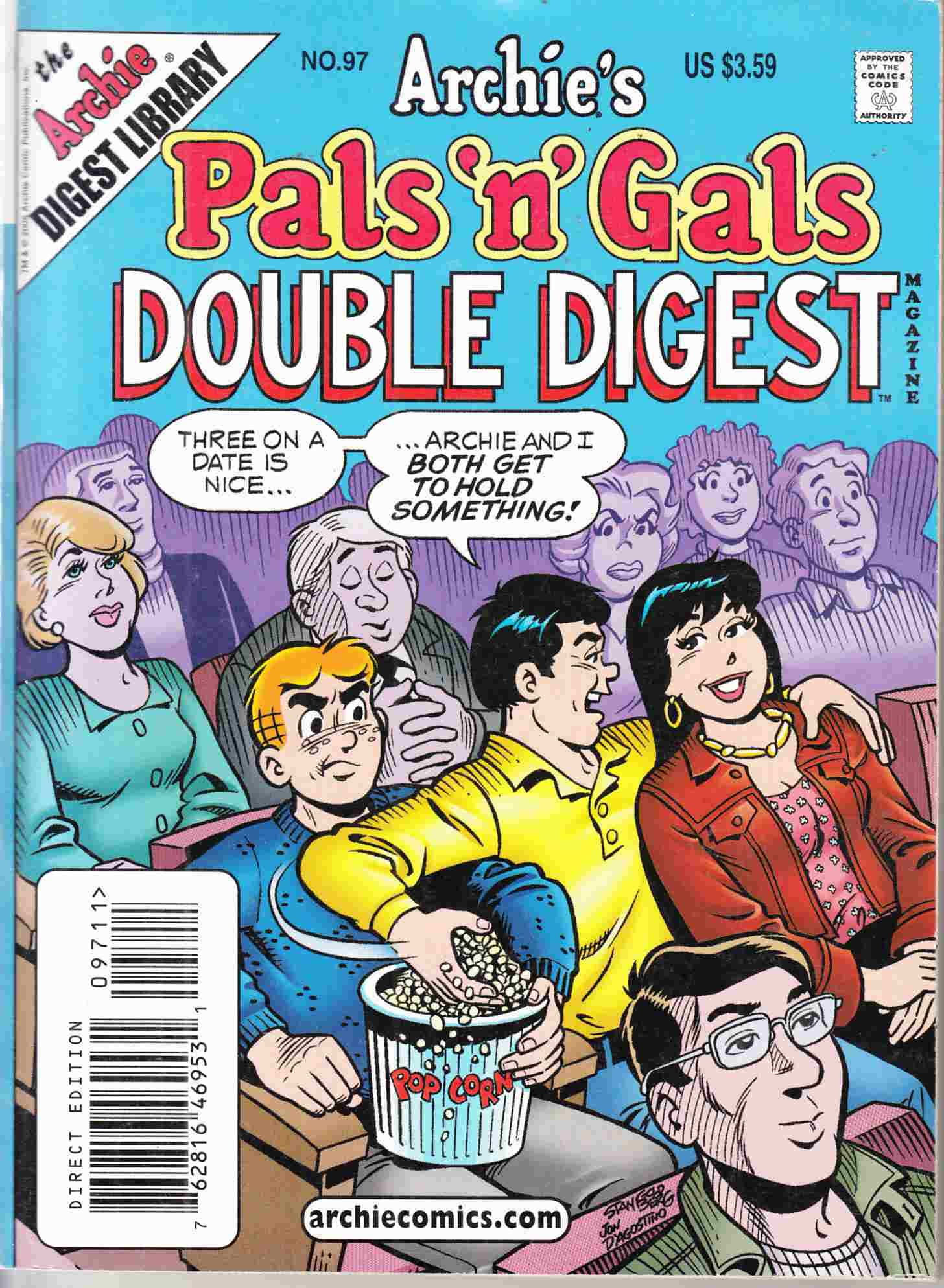 Pals N Gals Double Digest #97 Near Mint Minus (9.2) [Archie Comic] THUMBNAIL