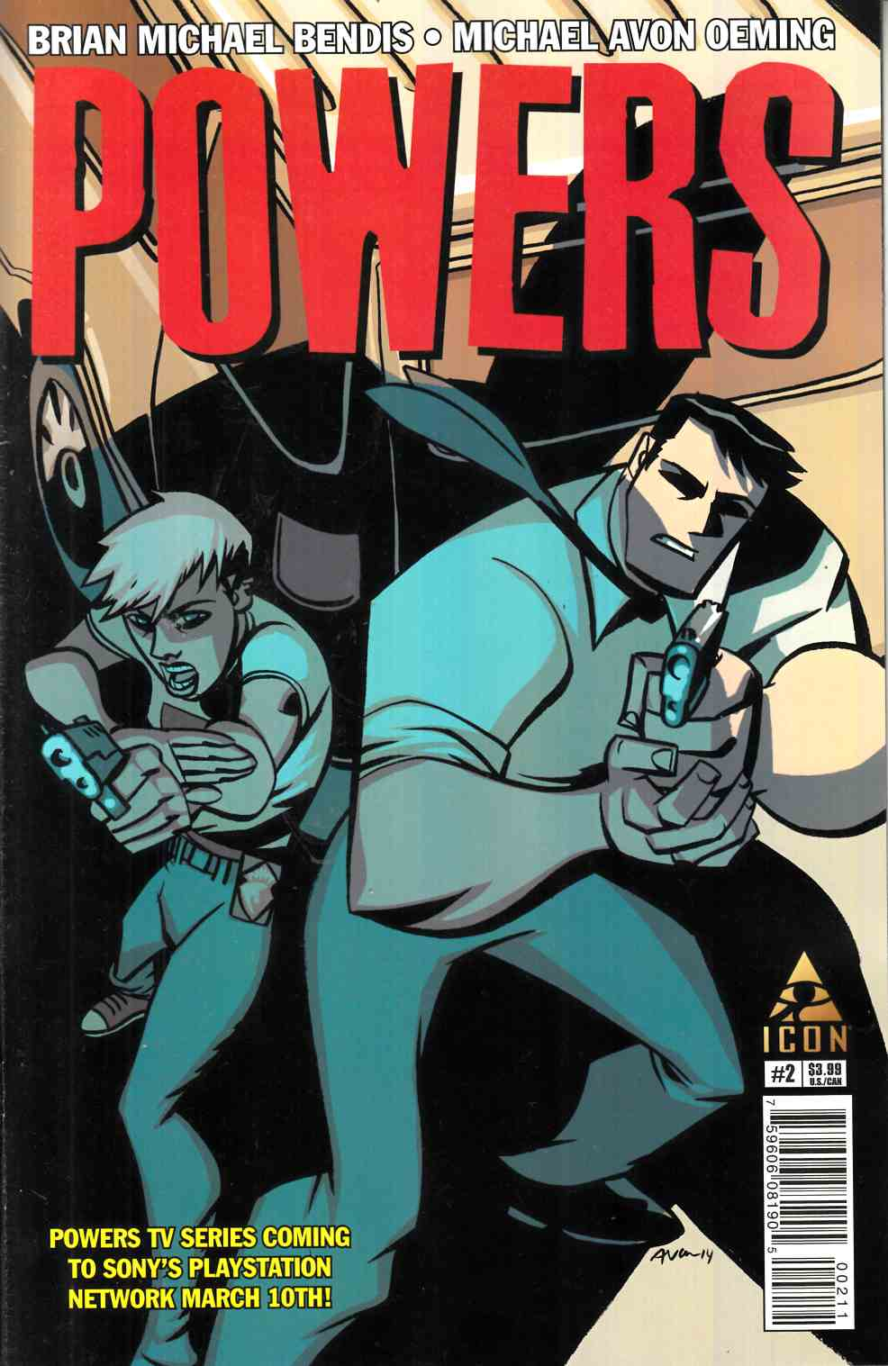 Powers #2 [Marvel Comic] LARGE