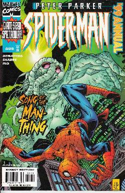 Peter Parker Spider-Man Annual 1999 [Marvel Comic] LARGE