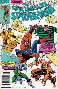 Peter Parker Spectacular Spider-Man #169 Newsstand [Comic]_LARGE