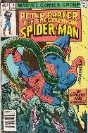 Peter Parker Spectacular Spider-Man #33 Newsstand [Comic] THUMBNAIL