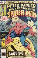 Peter Parker Spectacular Spider-Man #35 Newsstand [Comic] THUMBNAIL