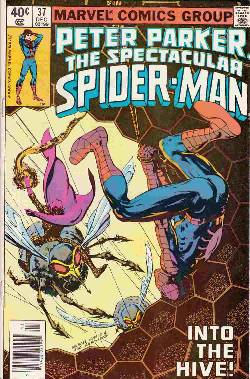 Peter Parker Spectacular Spider-Man #37 Newsstand [Comic] LARGE