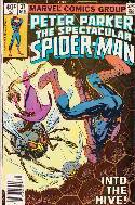 Peter Parker Spectacular Spider-Man #37 Newsstand [Comic] THUMBNAIL