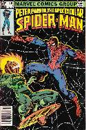 Peter Parker Spectacular Spider-Man #56 Newsstand [Comic] THUMBNAIL