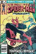 Peter Parker Spectacular Spider-Man #58 Newsstand [Comic] THUMBNAIL