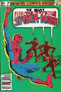 Peter Parker Spectacular Spider-Man #59 Newsstand [Comic] THUMBNAIL