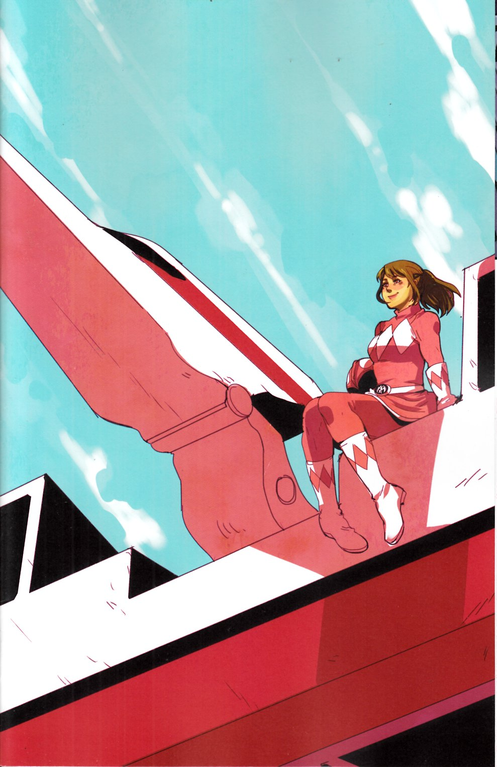 Power Rangers Pink #3 Hu Incentive Variant Cover [Boom Comic] THUMBNAIL