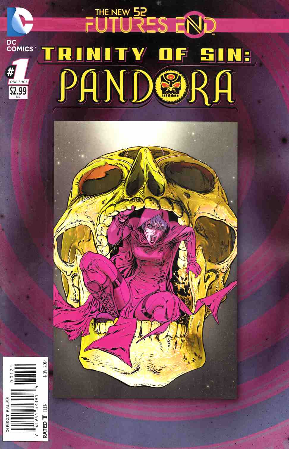 Trinity of Sin Pandora Futures End #1 Standard Edition [Comic] THUMBNAIL