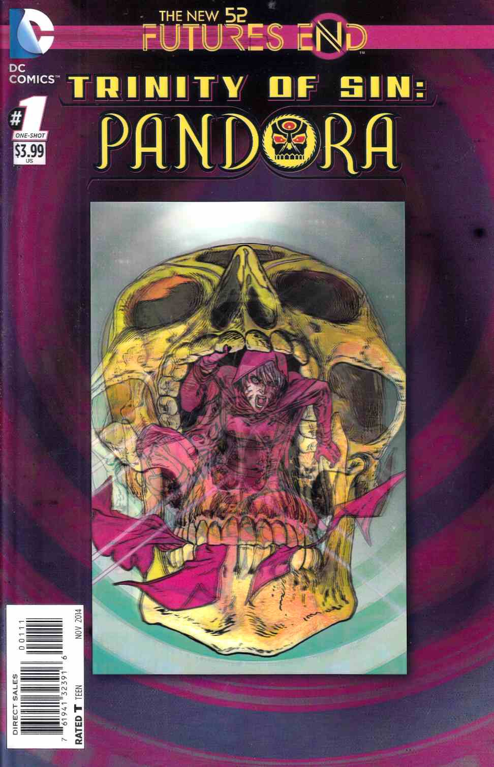 Trinity of Sin Pandora Futures End #1 3D Edition [Comic] THUMBNAIL
