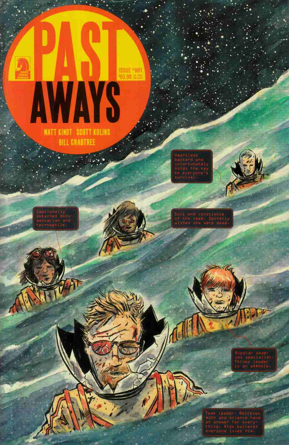 Pastaways #1 Kindt Variant Cover [Dark Horse Comic]_THUMBNAIL