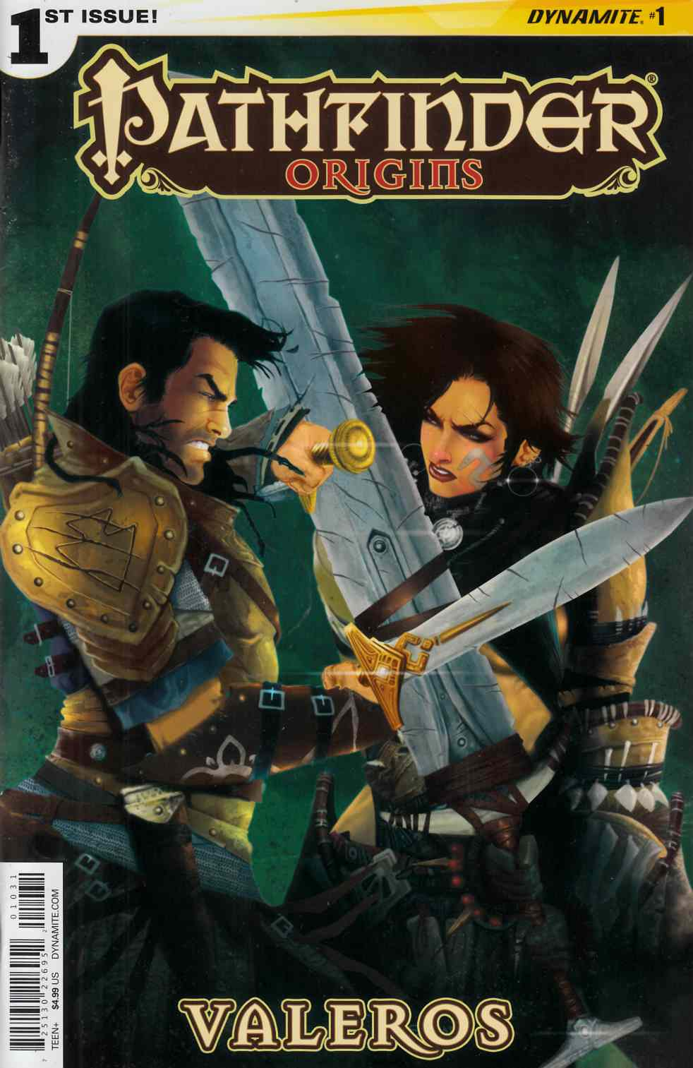 Pathfinder Origins #1 Cover C- Cichon Subscription [Dynamite Comic] THUMBNAIL