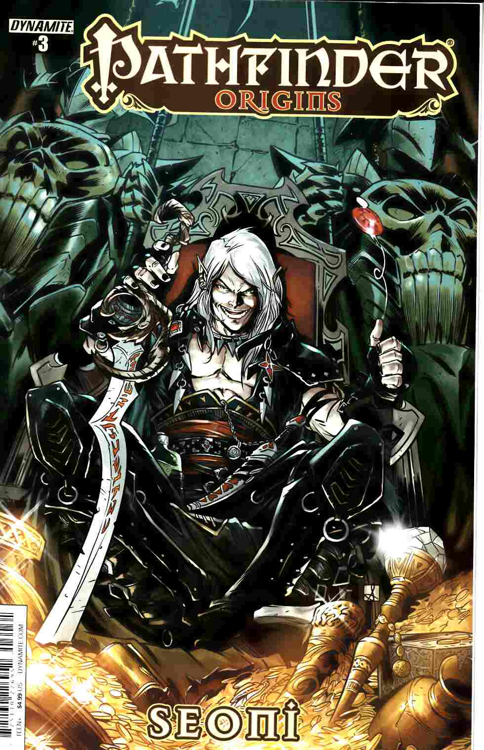 Pathfinder Origins #3 Cover C- Subscription Cover [Dynamite Comic] THUMBNAIL