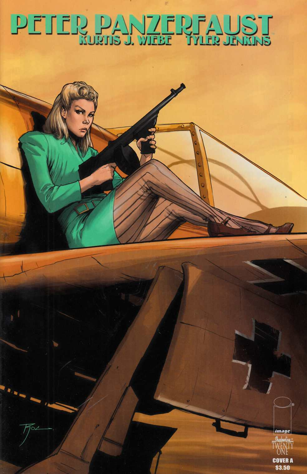 Peter Panzerfaust #21 Cover A- Upchurch [Comic] THUMBNAIL