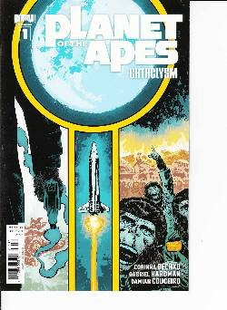 Planet of the Apes Cataclysm #1 Cover B- Hardman [Comic] LARGE