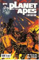 Planet of the Apes Cataclysm #1 Cover C- Quinones [Comic] THUMBNAIL