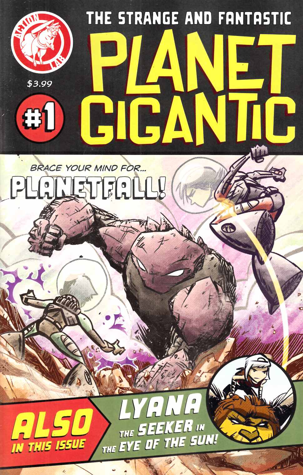 Planet Gigantic #1 [Action Lab Comic] THUMBNAIL
