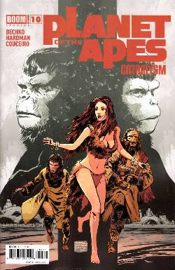 Planet of the Apes Cataclysm #10 [Comic] LARGE