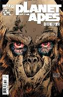 Planet of the Apes Cataclysm #4 Cover B- Hardman [Comic] THUMBNAIL
