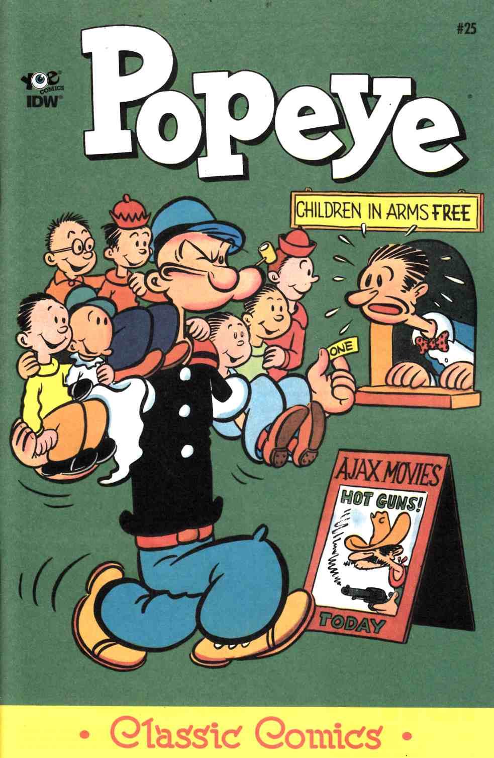 Popeye Classics Ongoing #25 [Comic] THUMBNAIL