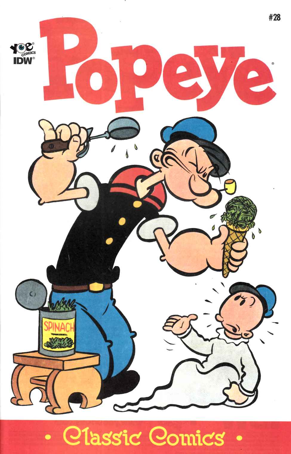 Popeye Classics Ongoing #28 [IDW Comic] THUMBNAIL