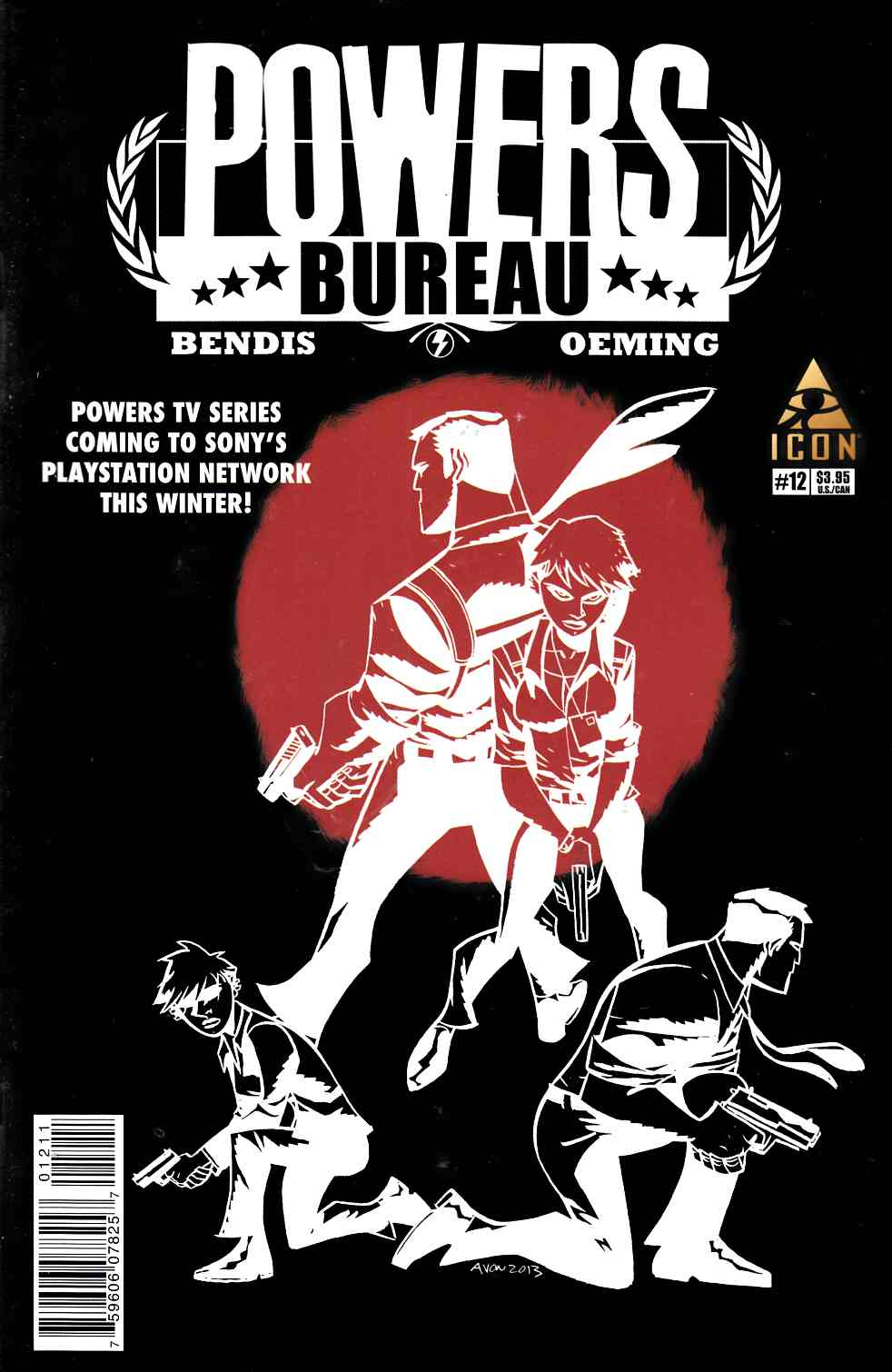 Powers Bureau #12 [Marvel Comic] THUMBNAIL