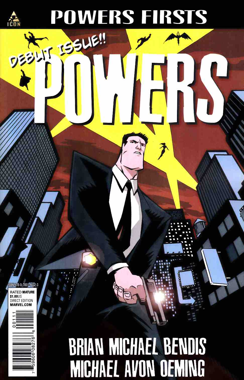 Powers #1 Marvel Firsts Edition [Marvel Comic] THUMBNAIL