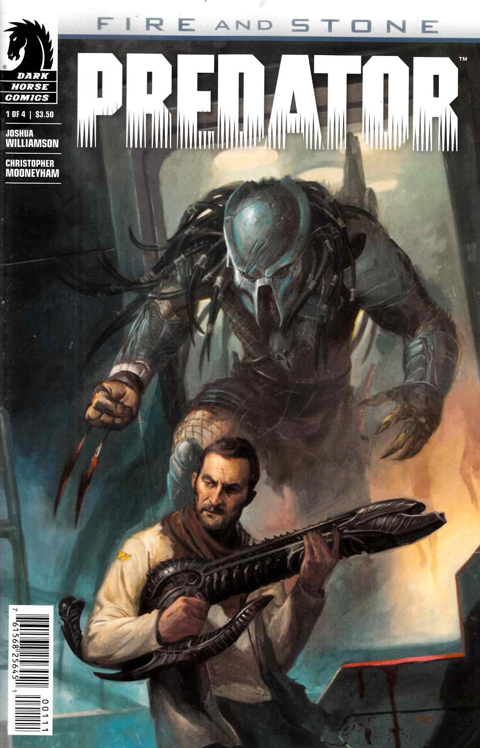 Predator Fire And Stone #1 [Dark Horse Comic]