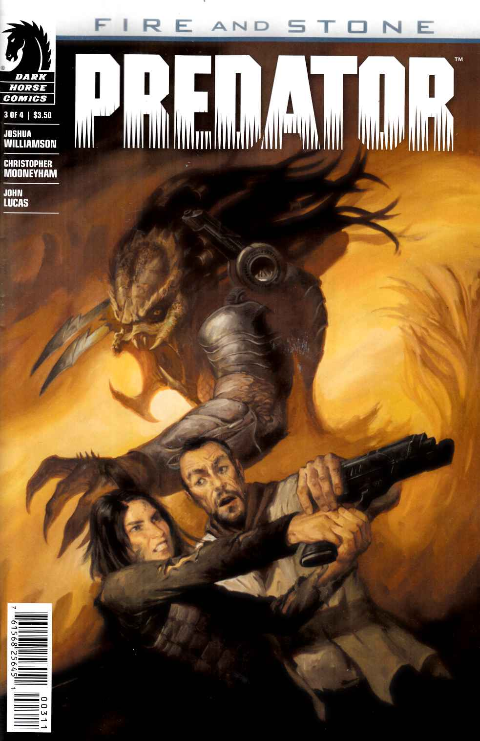 Predator Fire and Stone #3 [Dark Horse Comic]