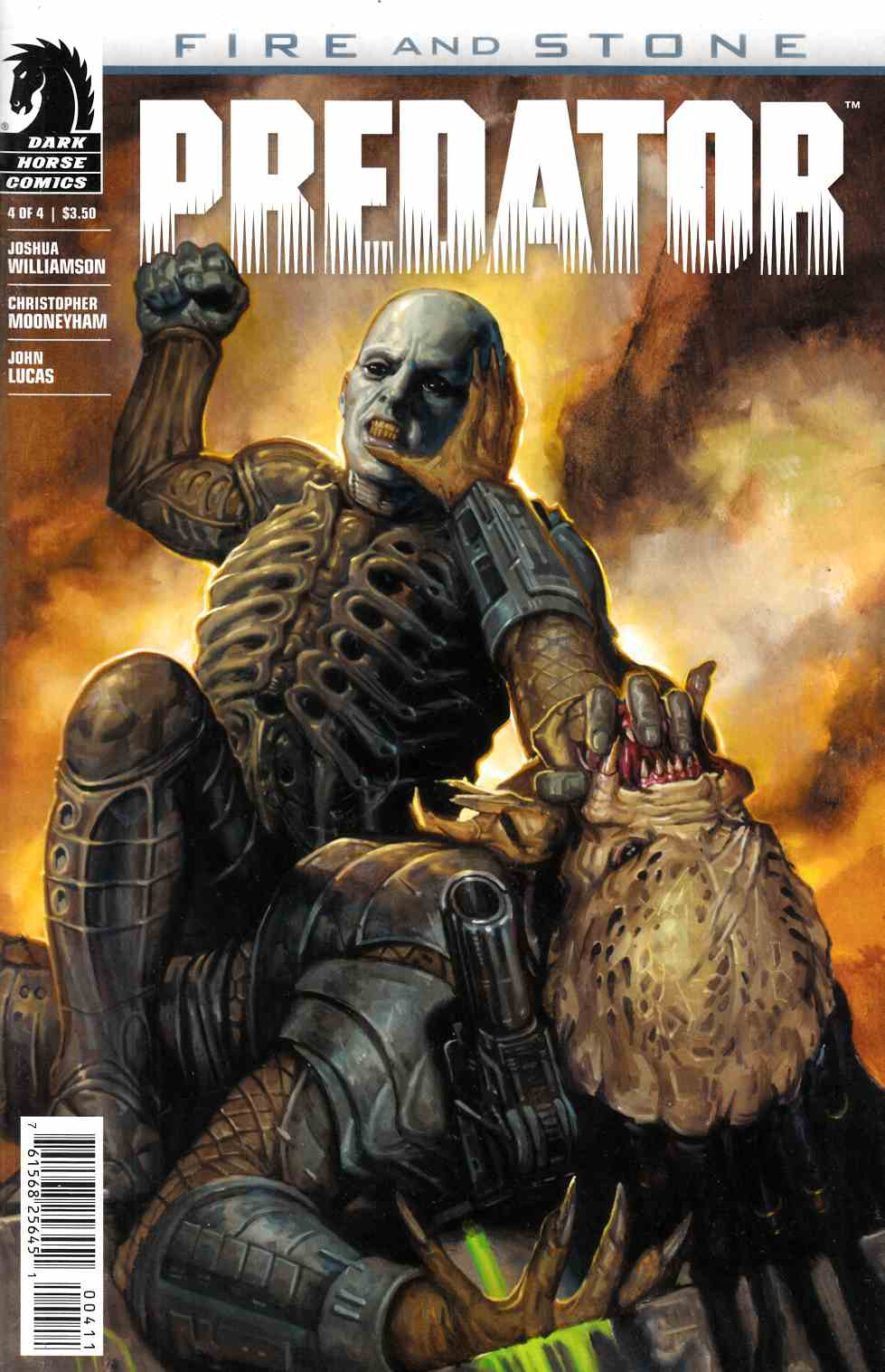 Predator Fire and Stone #4 [Dark Horse Comic]